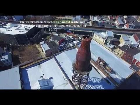 The Kensington Giant Milk Bottle - Harbison's Dairy | Dragonfly Drone Services | Philadelphia, PA