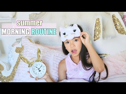 MORNING ROUTINE!!! ☀️ SUMMER EDITION!
