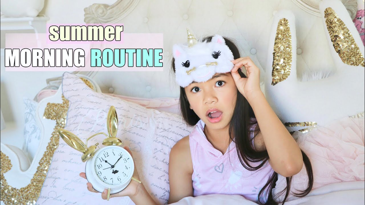 Download MORNING ROUTINE!!! ☀️ SUMMER EDITION!