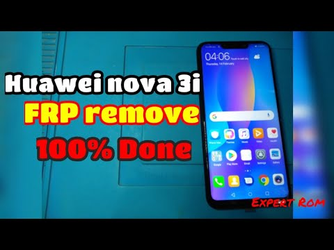 How to bypass google account huawei nova 3i android 8 1 0 (security patch 1  june 2018)