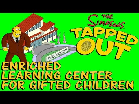 The Simpsons Tapped Out: Enriched Learning Center for Children (Leopold)