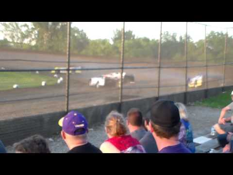 Late Model Heat 1 @ Marshalltown Speedway 06/06/17