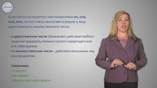 Русский язык Понятие о спряжении глагола