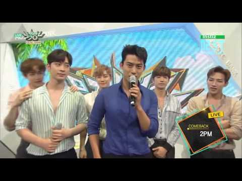 [Vietsub - 2ST] [150619] 2PM Backstage Interview @ KBS Music Bank