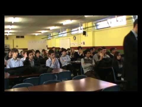 """Presentazione """"Il Segreto è la vita"""" alla Sir James Henderson School"""