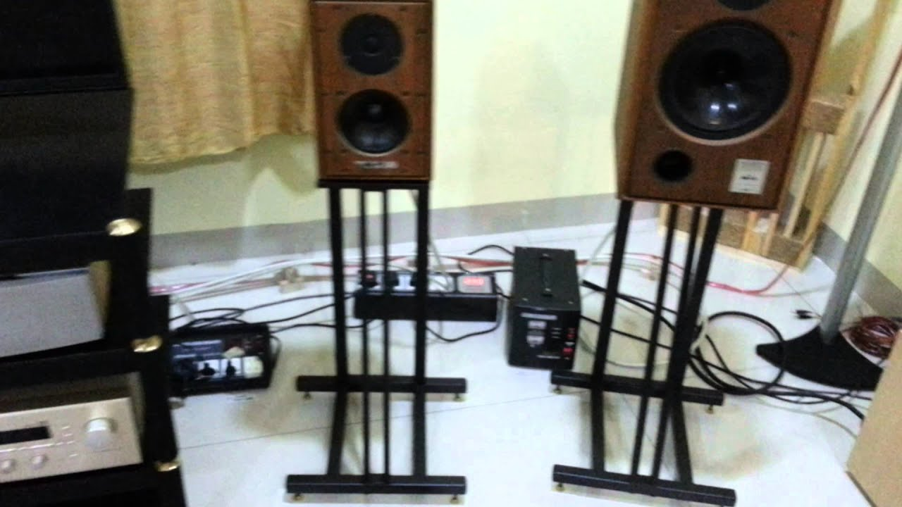 Harbeth HL-K6 with Quad 34/306 & Quad CD67 ( sample 2)