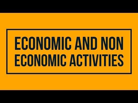 Economic Activities and