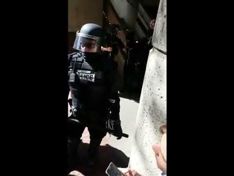 trigger happy cop shoots at terrified uninvolved teenagers in Portland