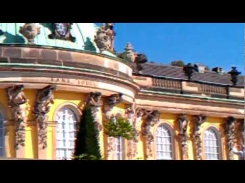Sanssouci Palace and Park, Potsdam. Video Ursula Maxwell-Lewis : Travelling Times