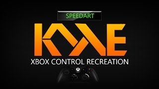 XBOX Control - Re-creation - SPEEDART #6 by kyle