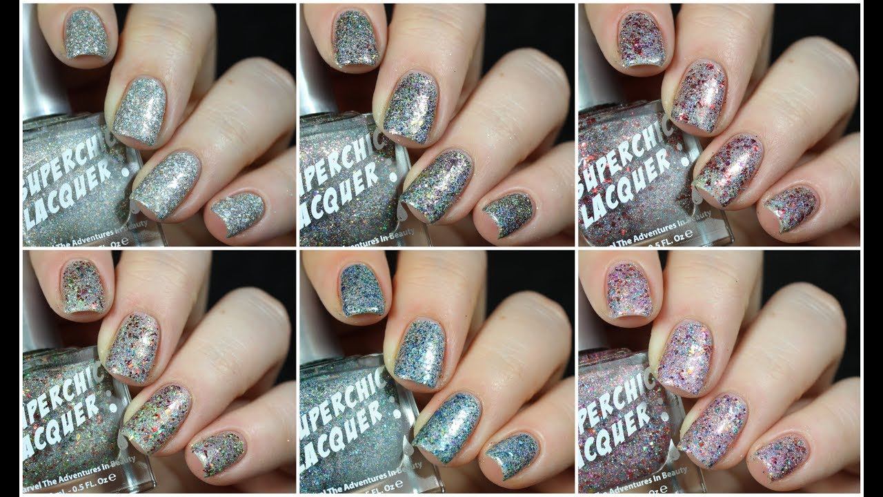 Super Chic Lacquer Elf Collection Live Swatch + Review! - YouTube