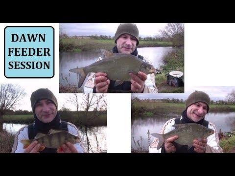 Cold-Water River Campaign Begins - Warwickshire Avon - 12/11/17 (Video 49)