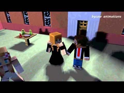 Steve And Alex: Prom - Minecraft Animation (Love Story)