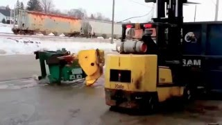 Forklift fail compilation. Heavy equipment