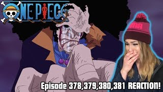 BROOK'S SAD BACKSTORY! One Piece Episode 378,379,380,381 REACTION!