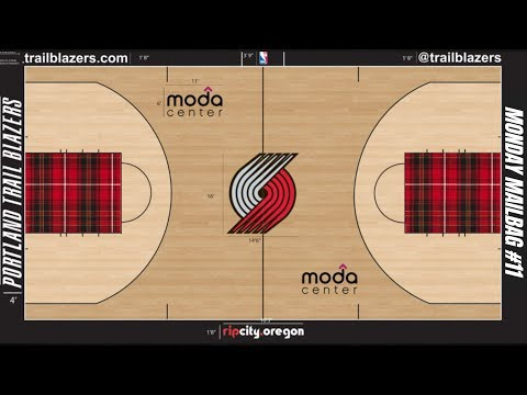 Blazers Need an Alternative PLAID-THEMED Court  Monday Mailbag 11