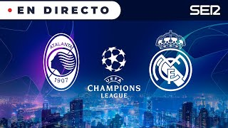 ⚽️ Atalanta 0 - 1 Real Madrid, ida de octavos | 🏆 UEFA Champions League