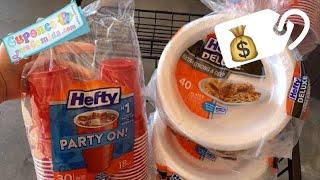 🛍 Aqui tenemos otro *SUPER* especial de platos y vaso que necesitaran para Thanksgiving!