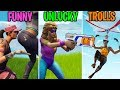 When Your Gun Gets NERFED! FUNNY vs UNLUCKY vs TROLLS - Fortnite Battle Royale Funny Moments