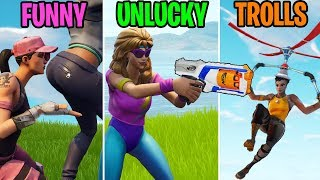 Quand votre arme devient NERFED! FUNNY vs UNLUCKY vs TROLLS - Fortnite Battle Royale Funny Moments