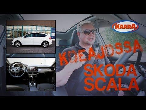 Koeajossa uusi ja suomalaisittain erittäin tärkeä uutuus Skoda Scala