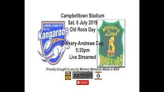 tonto Live Stream - Corkery-Andrews Cup - City Kangaroos v Mittagong Lions
