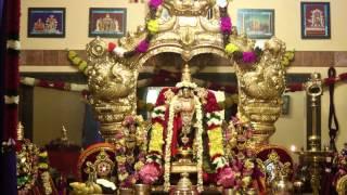 "Pasuram (Hymn) from Kovil Thiruvaimozhi (4000 Divyaprabandham) - ""Mughil Vannan"" (Nammazhwar)"