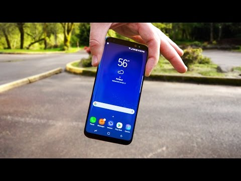 REAL Galaxy S8 Durability Drop Test + Galaxy S8+ Giveaway