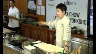 World Gourmet Summit 2010 Alex Chow Culinary Workshop, Part 1