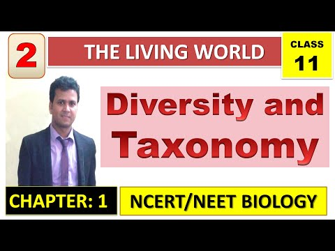 The Living World (Part 2) Diversity and Taxonomy I NCERT Biology I Class 11 I NEET/AIIMS
