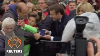 Macron storms to victory in French election