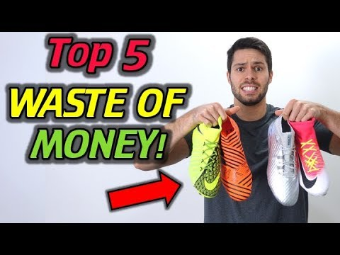 WASTE OF MONEY! - Top 5 Most EXPENSIVE Soccer Cleats/Football Boots That Are NOT Worth It