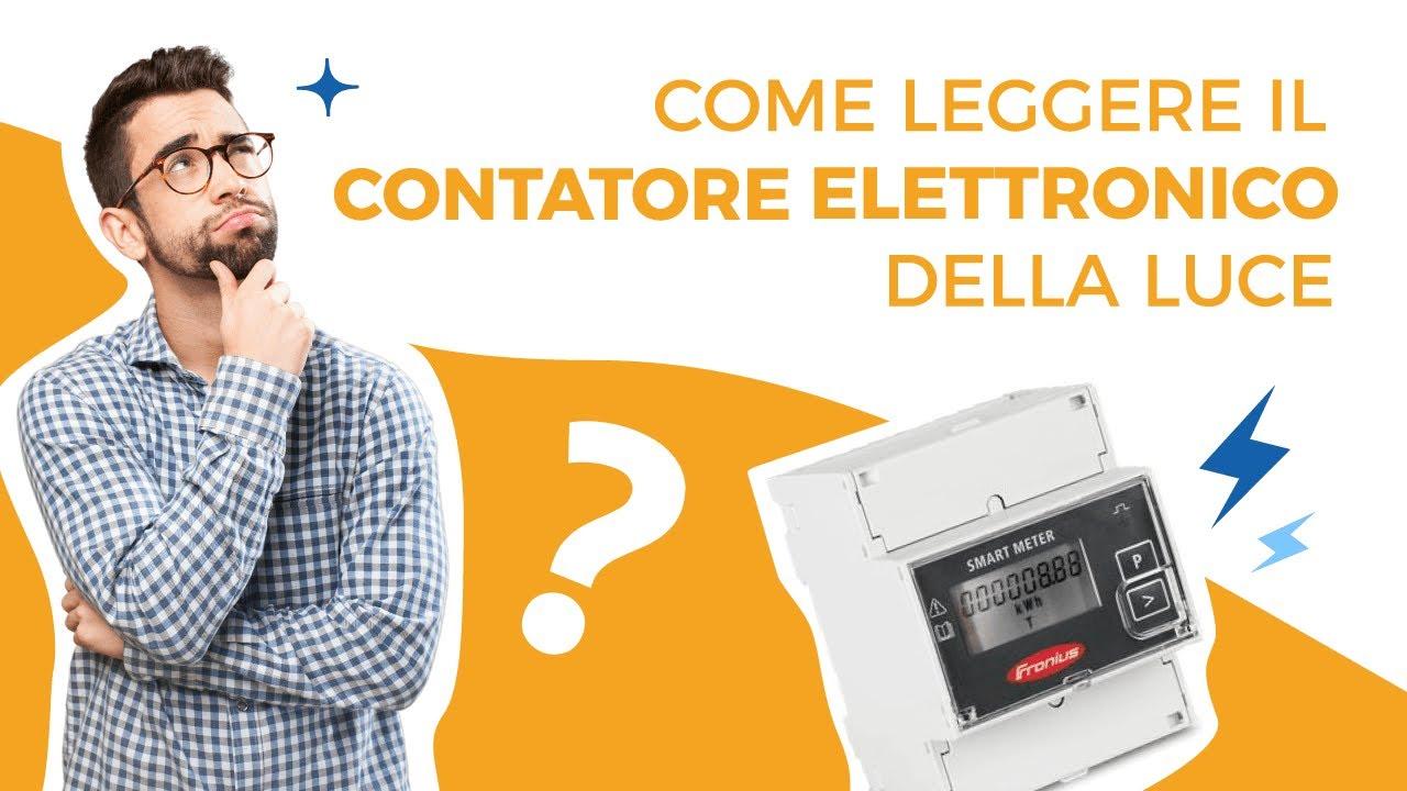 Come leggere il contatore elettronico della luce youtube for Contatore luce