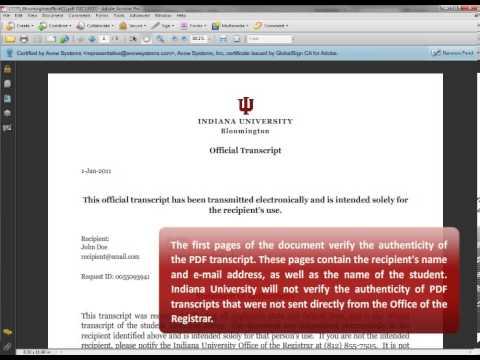 PDF Transcripts: Order a Transcript: Transcripts: Student Central