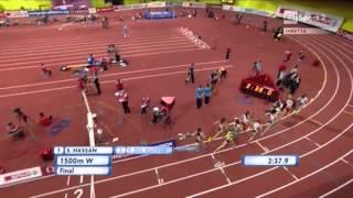 Campionati Europei Indoor Praga 2015 - Finale 1500m Donne - Federica Del Buono