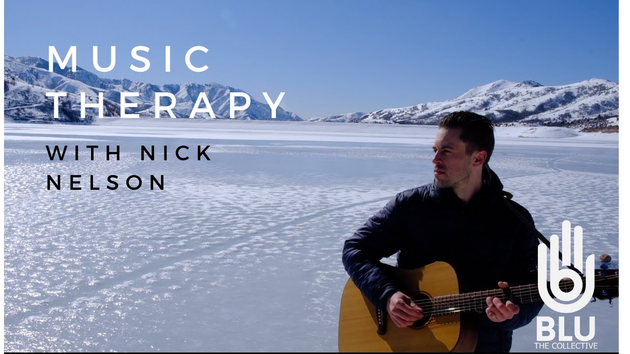MUSIC THERAPY- ACOUSTIC GUITAR, BEAUTIFUL LANDSCAPES, MINDFULNESS PROMPTS