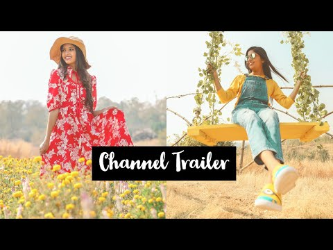 Channel Trailer : My First YouTube Video | Princy Surana thumbnail