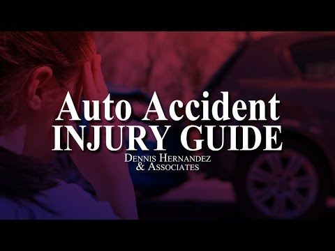 Accident Injury Guide | Tampa Personal Injury Lawyer | Dennis Hernandez & Associates