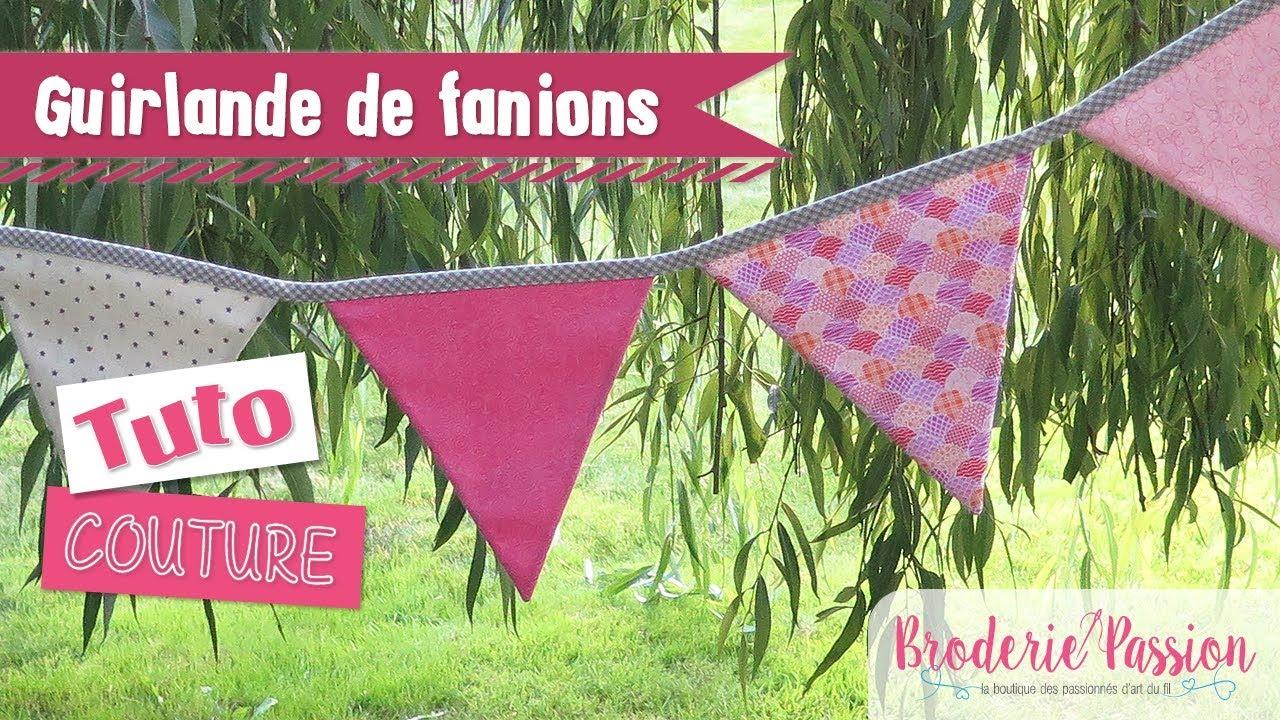 Fanion Chambre Bébé Garcon tuto - guirlande de fanions en couture