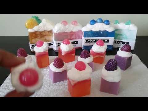 How To Make Whipped Melt Pour Soap Frosting