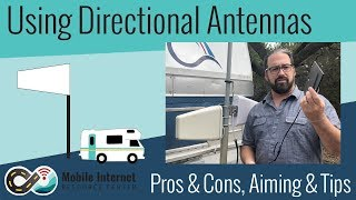 Using Directional Cellular Antennas: Pros & Cons, Aiming and Tips