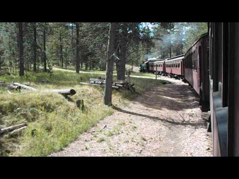 Train from Keystone, SD to Hill City, SD