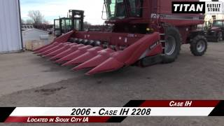 Case IH 2208, 8R30, FT, HHC, 2188/2366/2388 Header-Corn Sold on ELS!