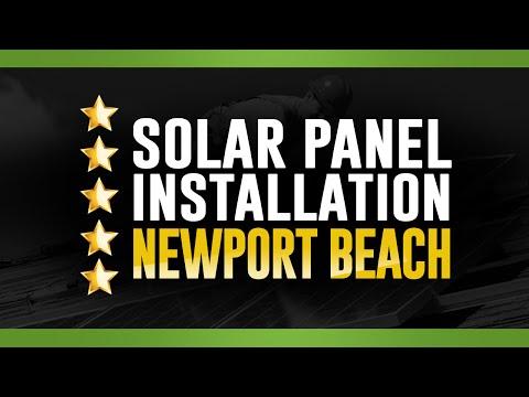 Solar Panel Installation – (562) 706-7394 – Newport Beach
