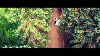 Роман и Юля очень красивая свадьба. Аэросъемка в Оренбурге
