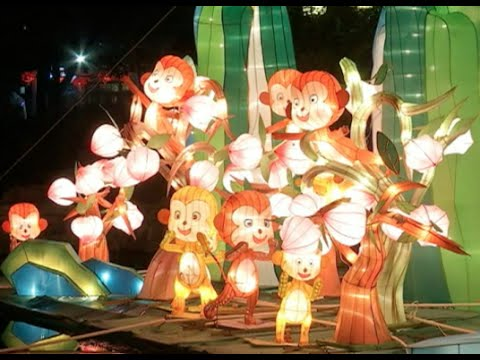 China's Lantern Shows Thicken Festive Atmosphere Ahead of Lunar New Year