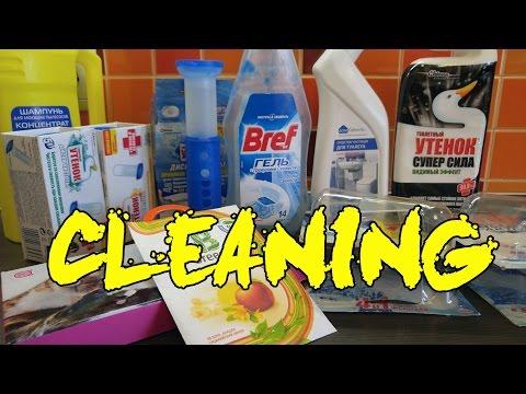 Моющие средства для ванны и квартиры | Мой опыт использования