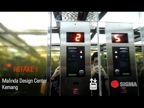 [R1] SIGMA Elevator at Malinda Design Center Kemang, Jakarta