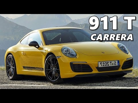 NEW Porsche 911 Carrera T in Action (2018)