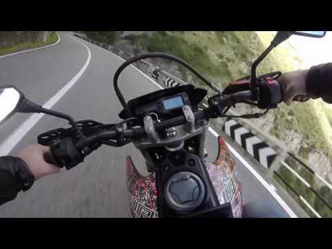 Road to Amalfi | Yamaha Wr125x OnBoard | GoPro Hero
